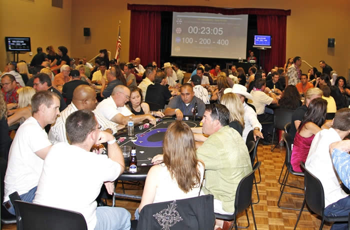Phoenix area charity poker tournament in Sccottsdale