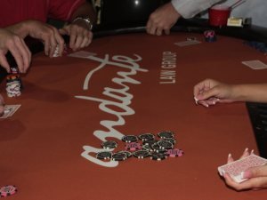 Andante Law Poker Table
