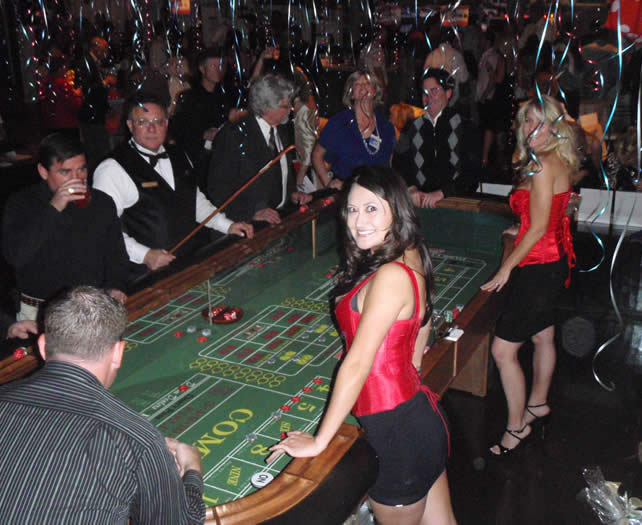 Craps Table equipment Rentals