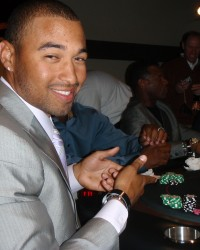 Matt Kemp hosted a Dream Dealer Spring Training Charity Poker Tournament  #CelebrityPokerEventScottsdale  #ArizonaLocalCharity  #SupportLocalAZCharity