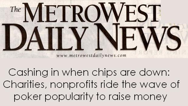 Metro West Charity Poker Article