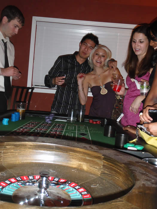 ASU Casino Night Graduation Party with Roulette