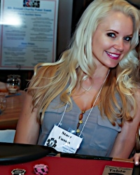 Stacy Fuson at a Charity Poker tournament, Scottsdale Arizona