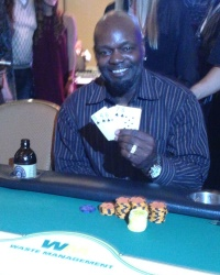 Emmitt Smith, Charity Poker Tournament Winner! #CelebrityPokerEventScottsdale  #PokerForCharity  #CelebritySightingsAZPokerTournament