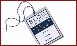 Bloo Label Web Design