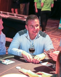 Urban Meyer at a charity poker tournament, #CelebrityPokerEventScottsdale  #ArizonaLocalCharity  #SupportLocalAZCharity